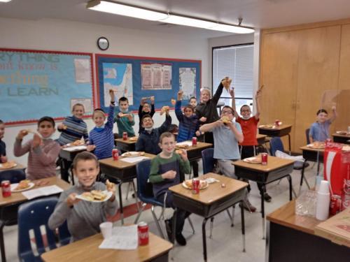 Rabbi Trainer's 5th Grade