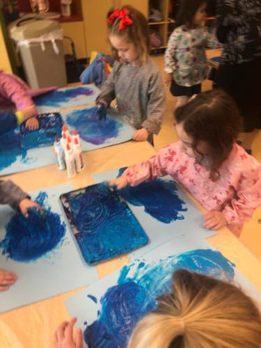 Chanukah at the Preschool 2019!